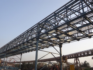 JSW Steel Bypass Conveyor
